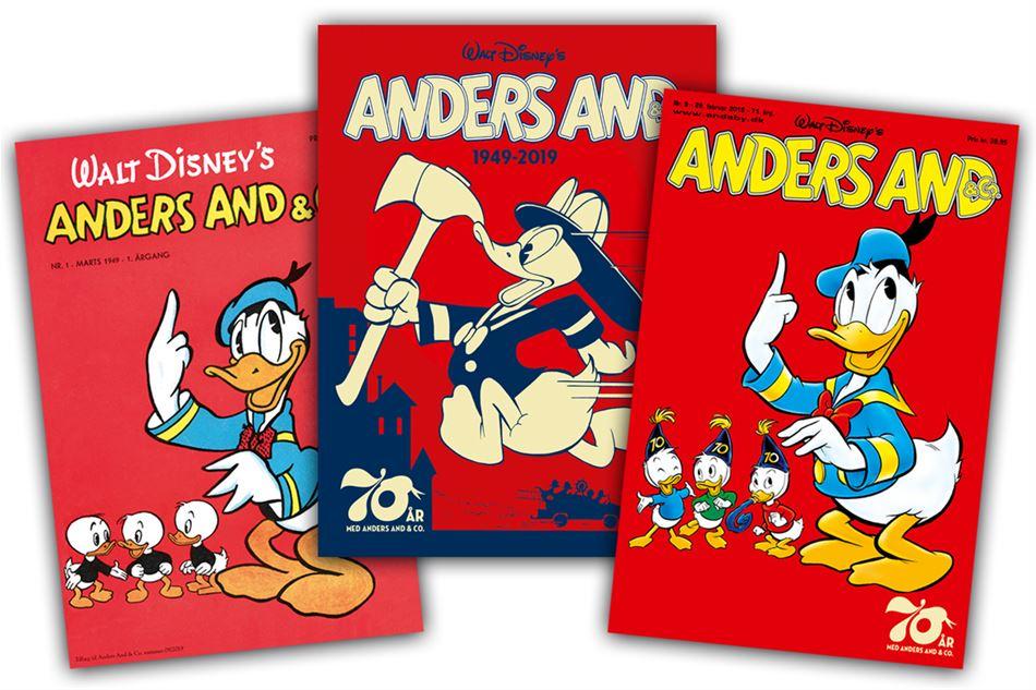 Anders And på Copenhagen Comics