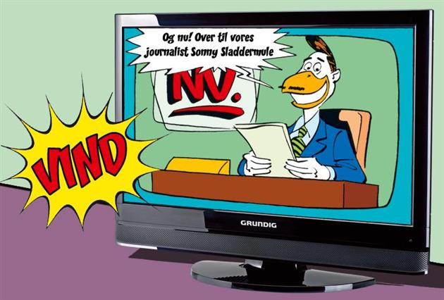 Afsluttet: Vind TV fra Grundig!