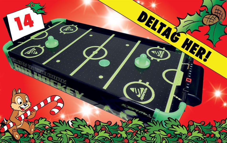 14. december - Vind selvlysende SportMe Airhockey
