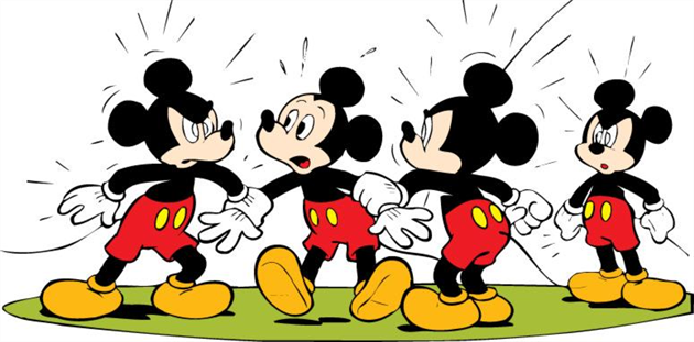Mickey Mouse er en af Disney's vigtigste figurer