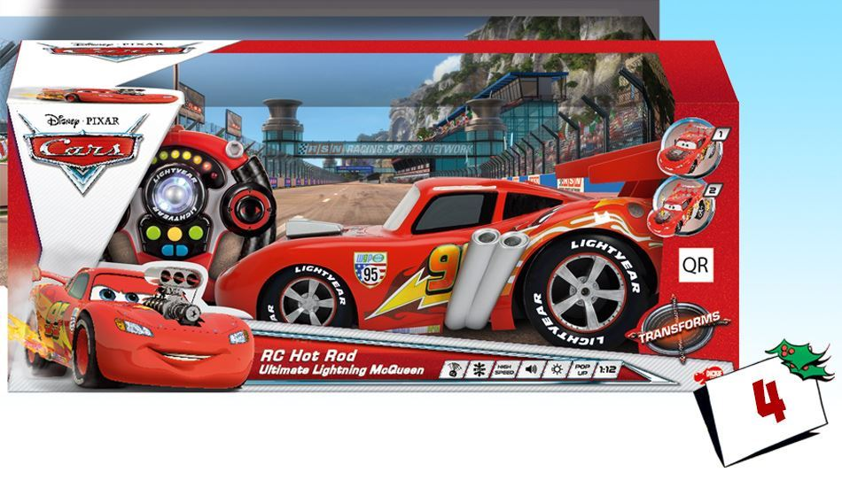 Ka-Tchow!! En superkul fjernstyrt Lightning McQueen!