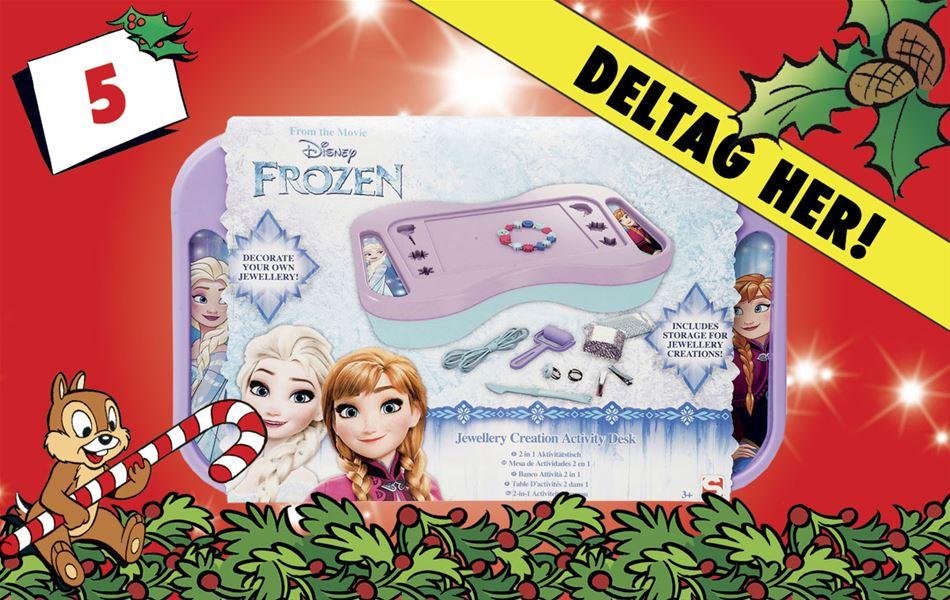 5. december • Vind Disney Frost 'gør det selv'-smykker