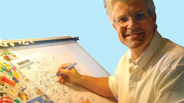 Anders And tegner Arild Midthun