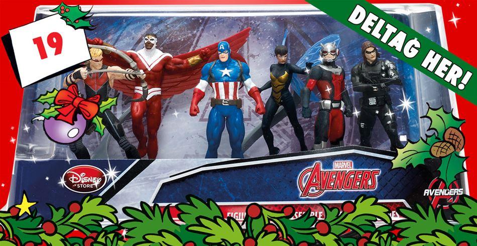 19. december • VIND: Kaptajn America-figursæt