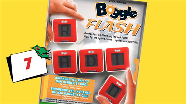 Afsluttet: Vind spillet Boggle flash