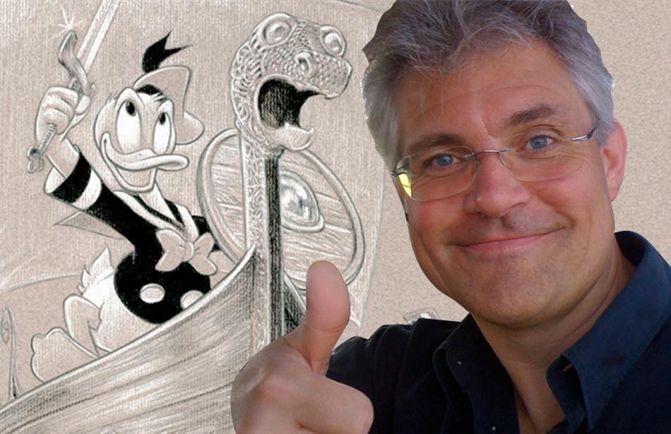 Stil mestertegner Arild Midthun et tegne-spørgsmål