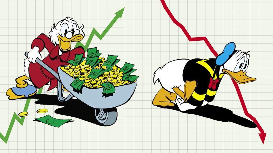Sådan bliver du rig - eller ruineret!