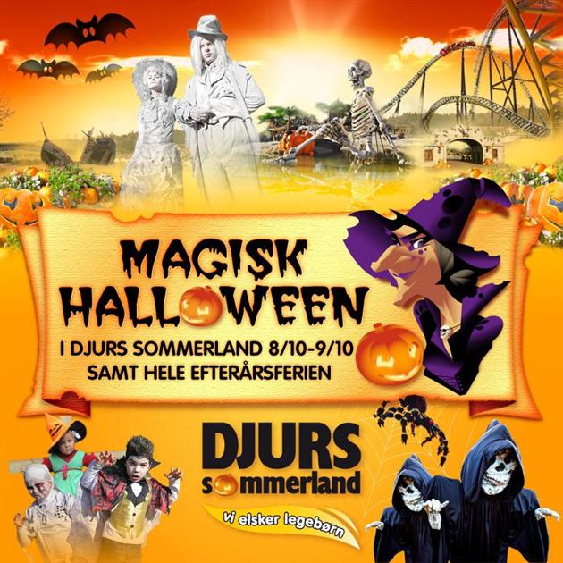 Afsluttet: Magisk Halloween i Djurs Sommerland