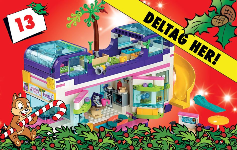 13. december - Vind LEGO Friends venskabsbus!