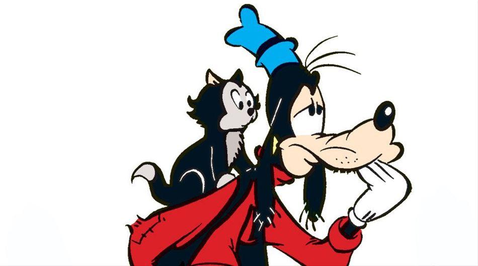 Mickey og Fedtmules malerarbejde