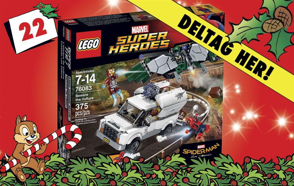 22. december • VIND LEGO Marvel Super Heroes