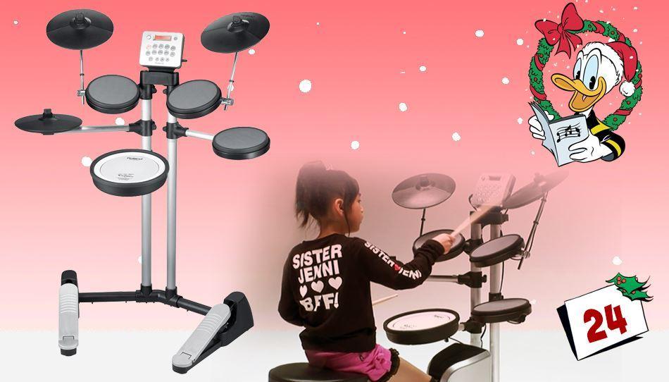 Møt det nye året med det digitale trommesettet V-Drums Lite HD-3!