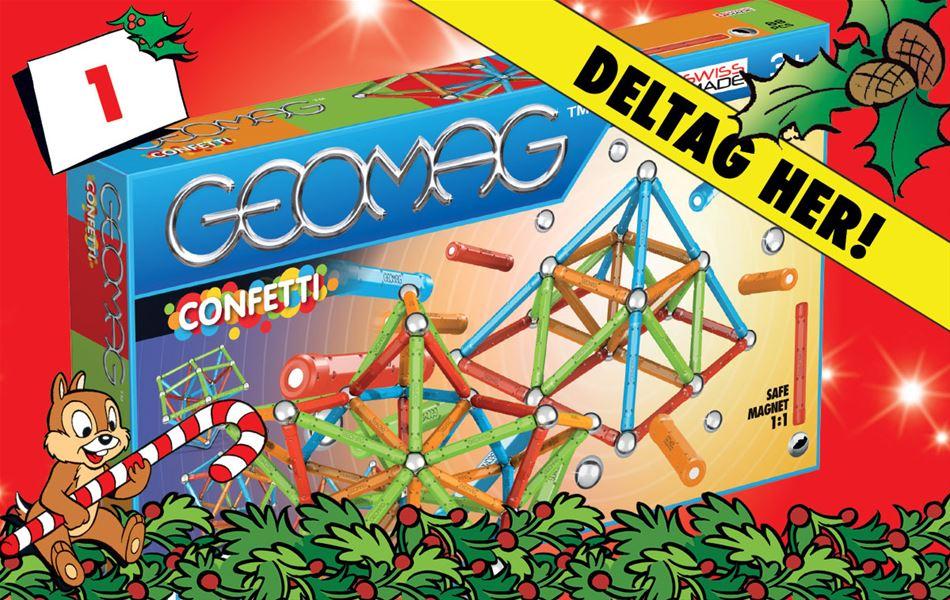 1. december - Vind Geomag Confetti