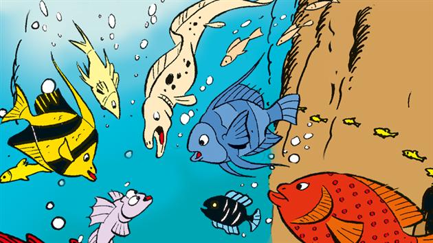 Findes Andebys fisk i virkeligheden?
