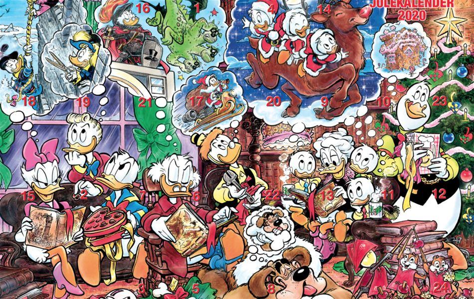 Her er vinderne i julekalenderen