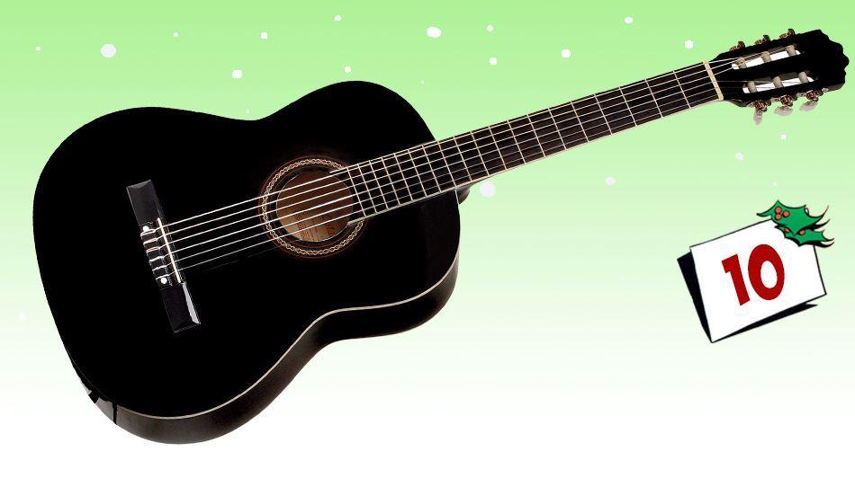 Denne lekre gitaren i 3/4 størrelse kan bli din...