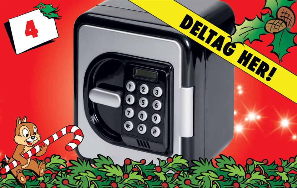 4. december - Vind Fippla digital pengeskab