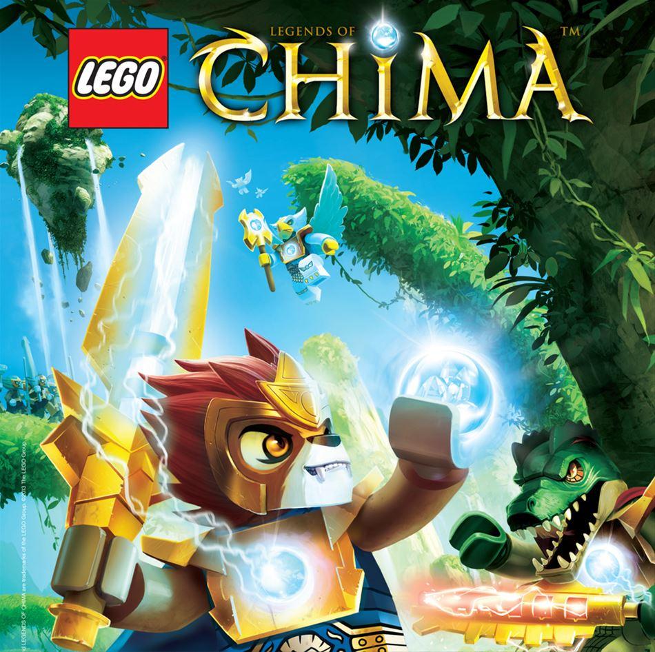 AFSLUTTET SE HVEM, DER VANDT: LEGO Chima DVD-konkurrence