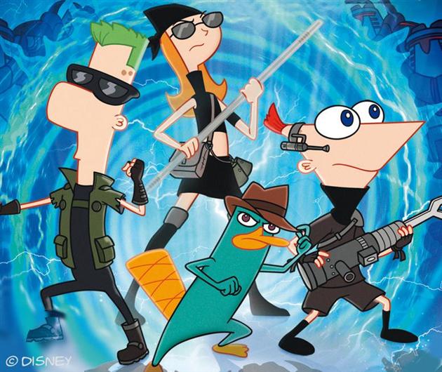 Afsluttet: Phineas og Ferb-konkurrence