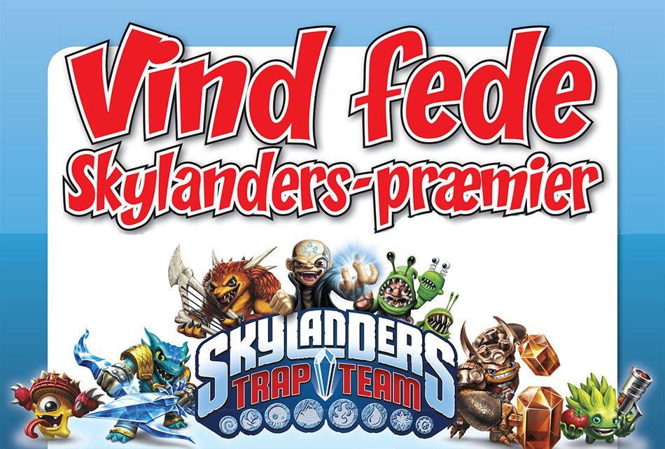AFSLUTTET: Se vinderne af de fede Skylanders-præmier!