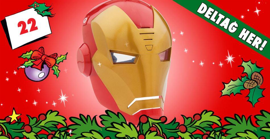 22. december • VIND: Iron Man-maske med lydeffekter