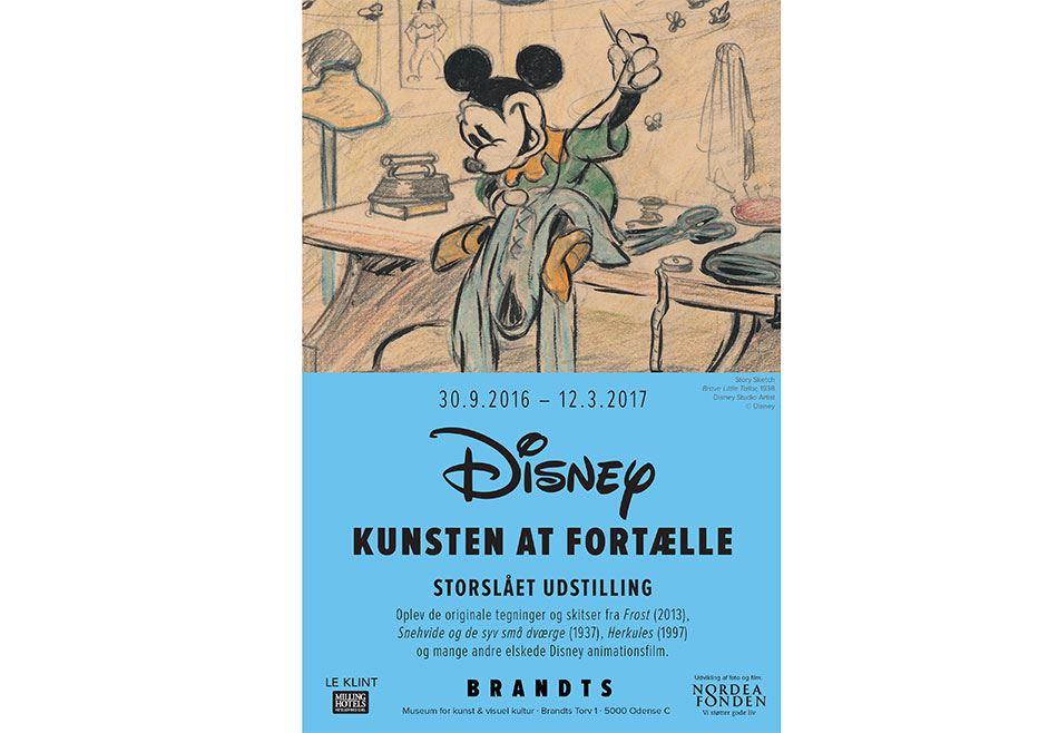 Flot Disney-udstilling i Odense