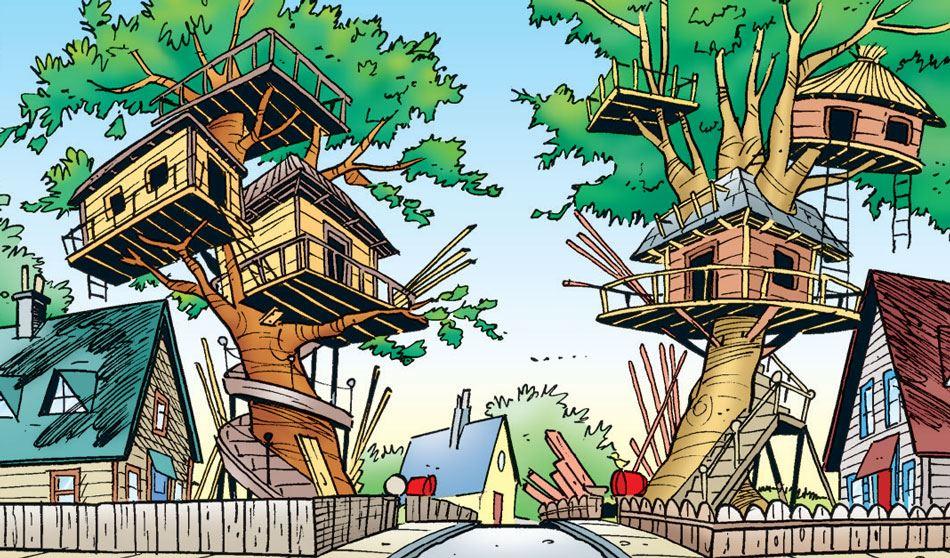Fantastiske træhuse