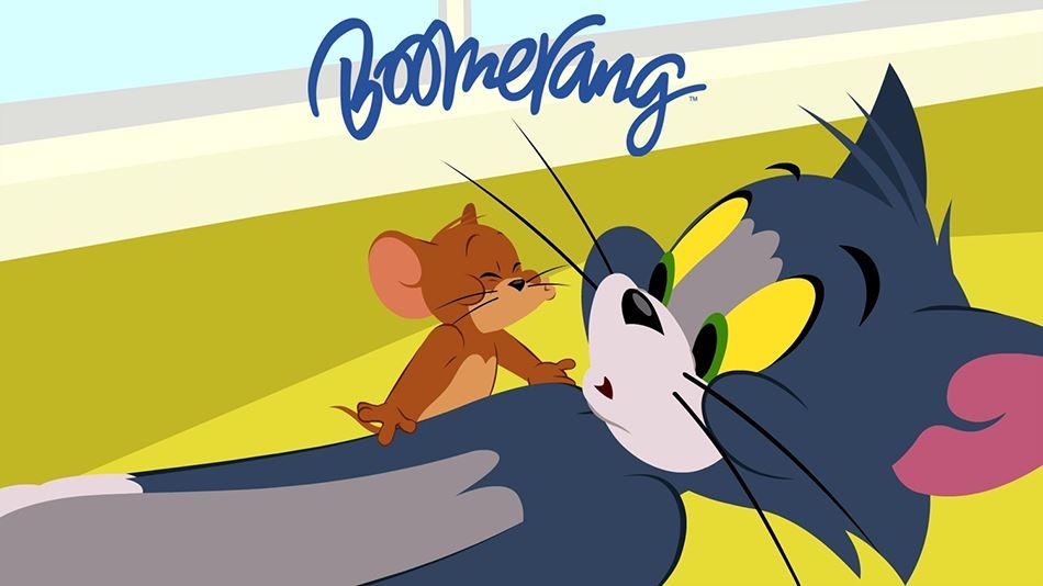 Se Tom & Jerry på den danske børnekanal Boomerang...