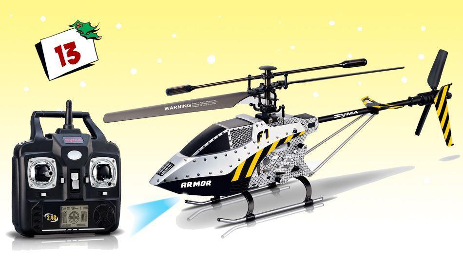 Et råtøft fjernstyrt helikopter fra Syma. Kan du tenke deg en tøffere førjulsgave?