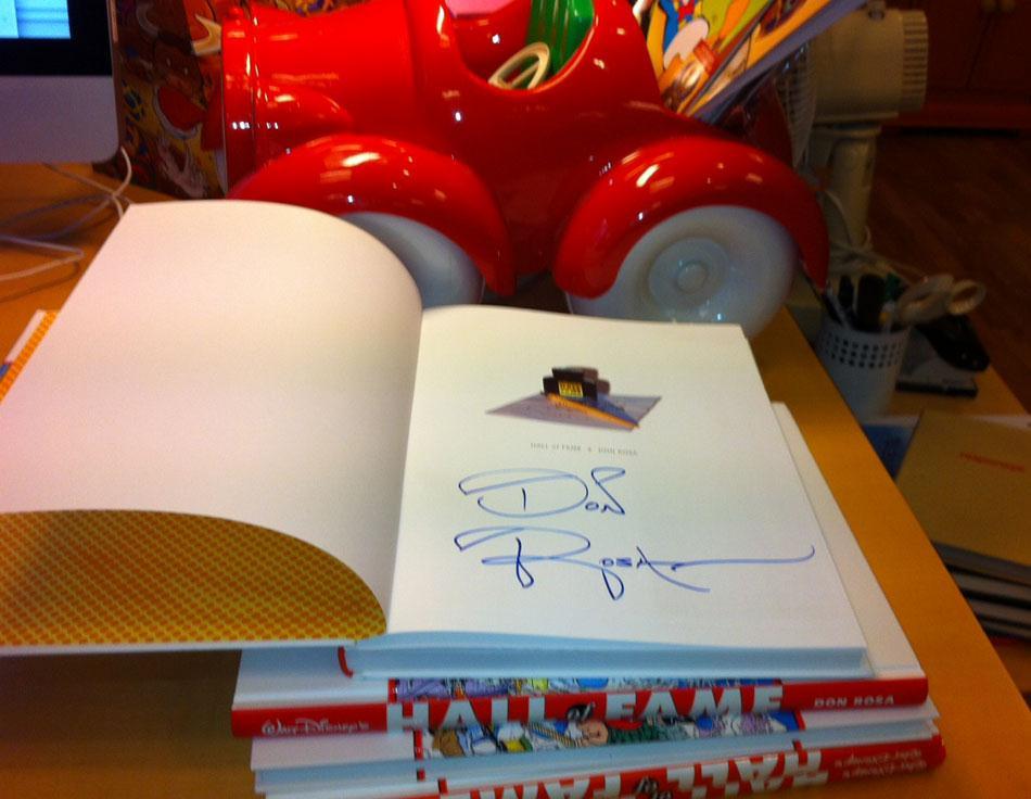 Se hvem der vandt en signeret Don Rosa-bog