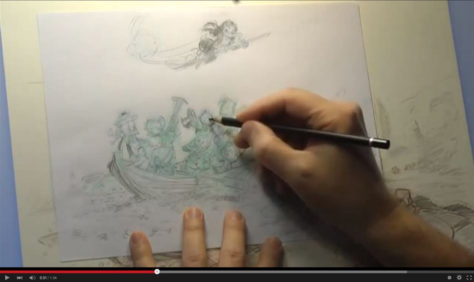 Se mestertegneren Arild Midthun tegne!
