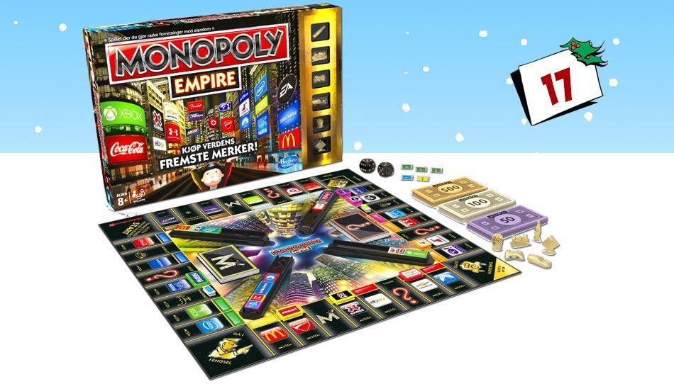 En ny vri på Monopol som gir deg tilgang til verdens største merkevarer!