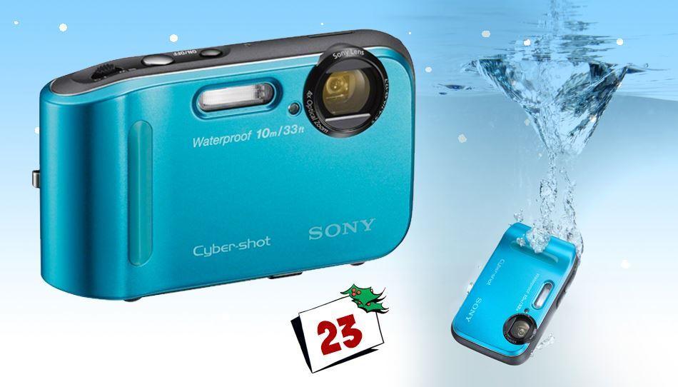 Sony Cybershot kompakt digitalkamera - Model DSC-TF1 lar deg ta sylskarpe bilder i krevende situasjoner.
