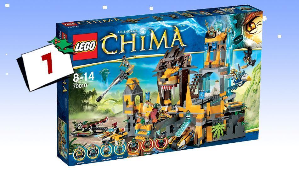 Lego Chima - Løvenes Chi Tempel: Alle Chimafans drøm!