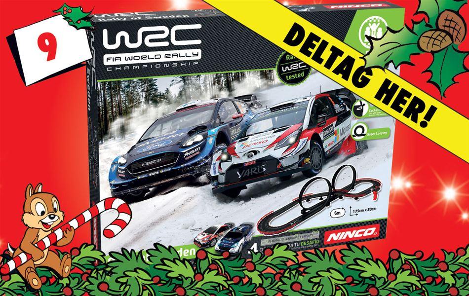 9. december - Ninco WRC Rally-racerbane!