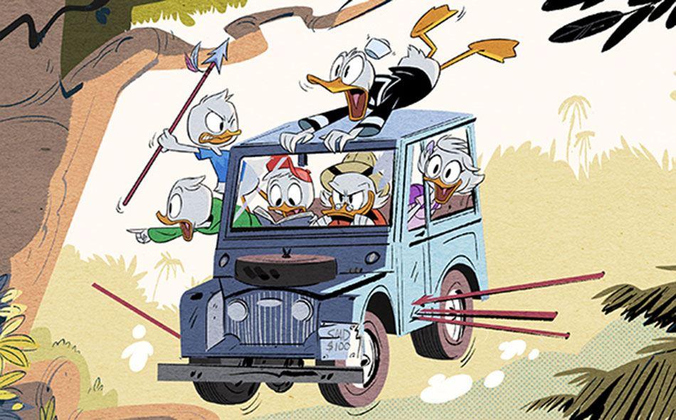 Smugkig fra den nye Ducktales