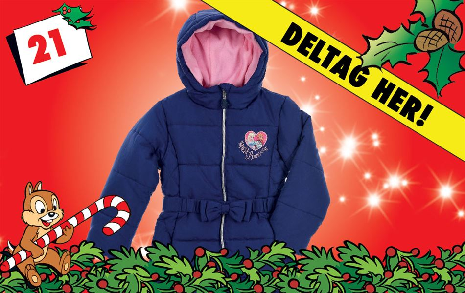 21. december - Vind Disney Frost-jakke, Navy!