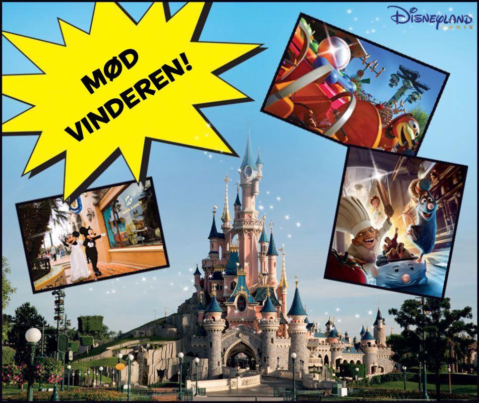 Celina vandt en tur til Disneyland med AA&Co.