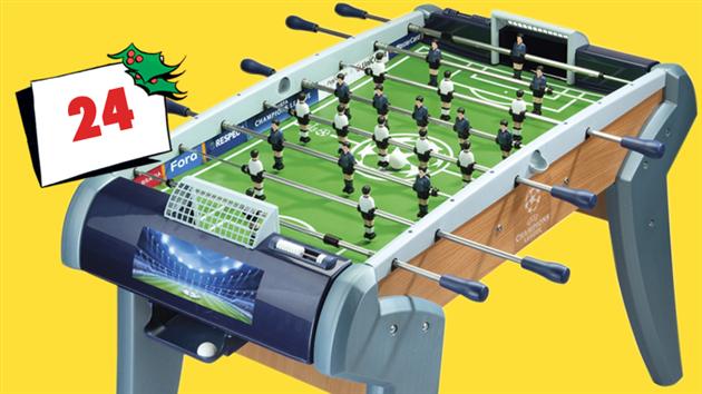 Vind bordfodboldspil