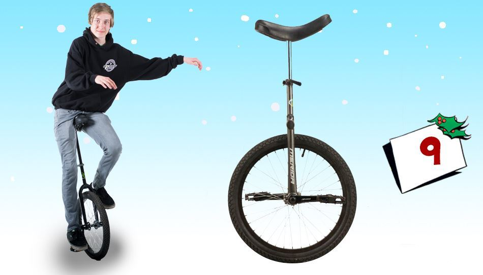 Klarer du å holde deg på hjul? Med en Merida enhjulssykkel har du i alle fall muligheten til å prøve!