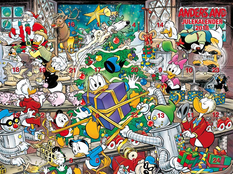 Årets julekalender 2018