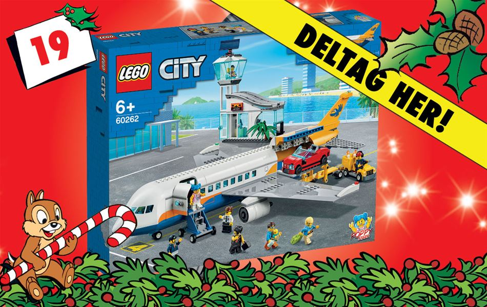 19. december - Vind LEGO City Airport passagerfly