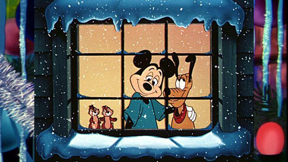 Få julestemmning med Pluto, Mickey, Chip og Chap