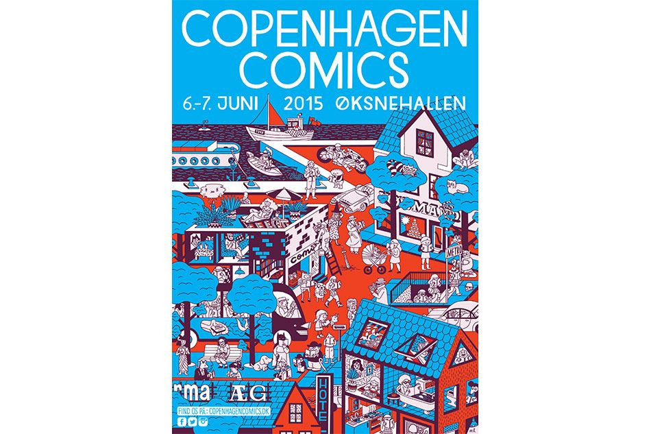 Kom til tegneseriefestival i København