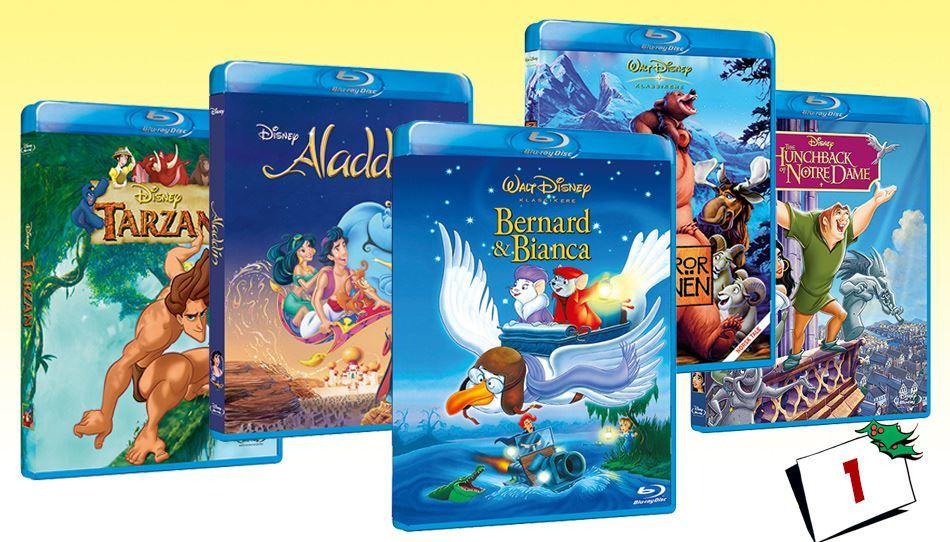 AFSLUTTET: SE HVEM DE HELDIGE  VINDERE ER - VIND Disney filmpakke