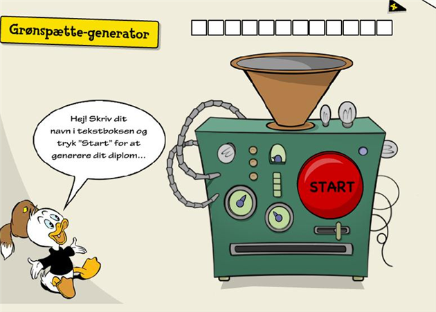 Har du prøvet Grønspætte-generatoren?
