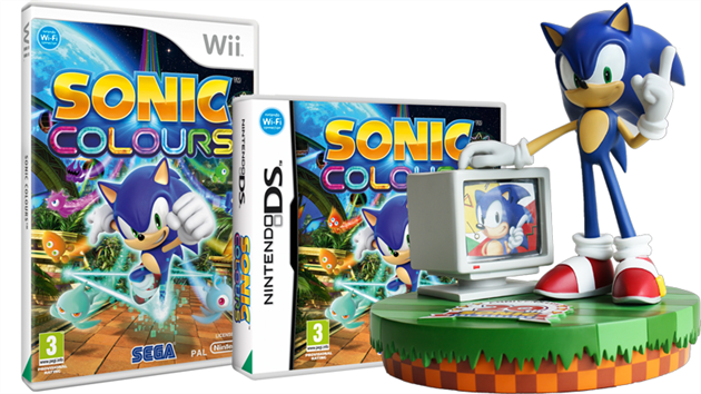 Afsluttet: Vind Sonic jubilæumsfigur og spillet Sonic Colours!
