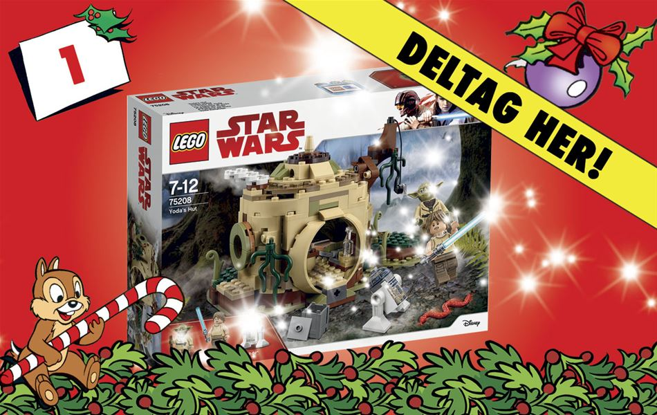 1. december • Vind LEGO Star Wars
