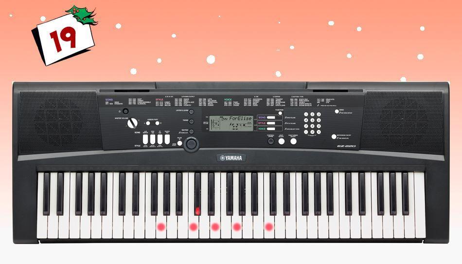 Yamaha EZ-220 er et fantastisk keyboard for nyebegynnere