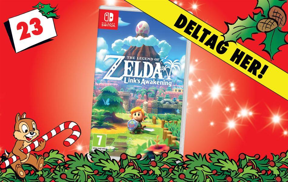 23. december - Vind The Legend of Zelda: Link's Awakening til Nintendo Switch!